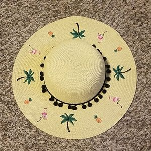 Betsey Johnson straw hat